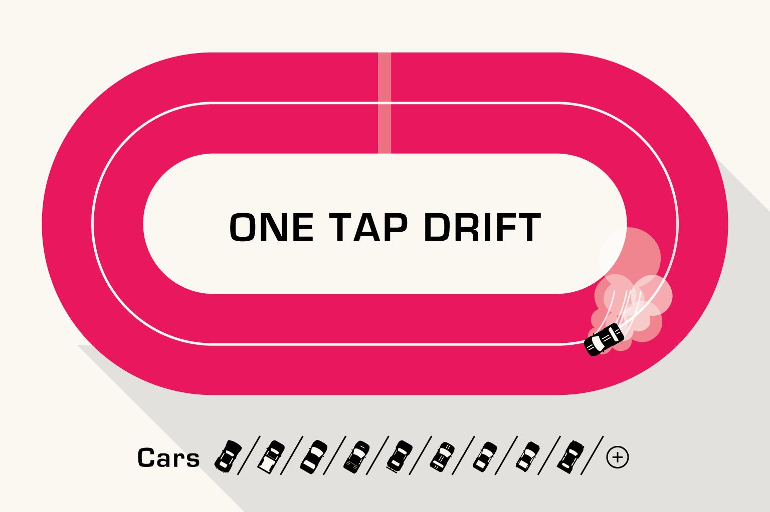 one tap drift
