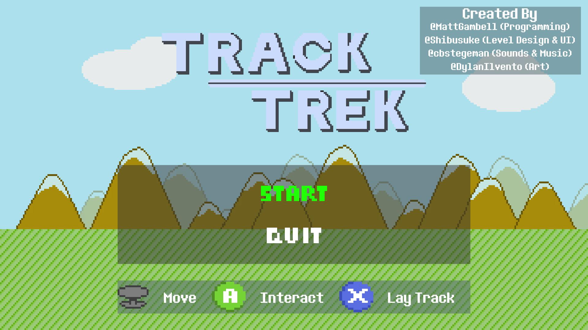 Track Trek (Train Jam 2018)