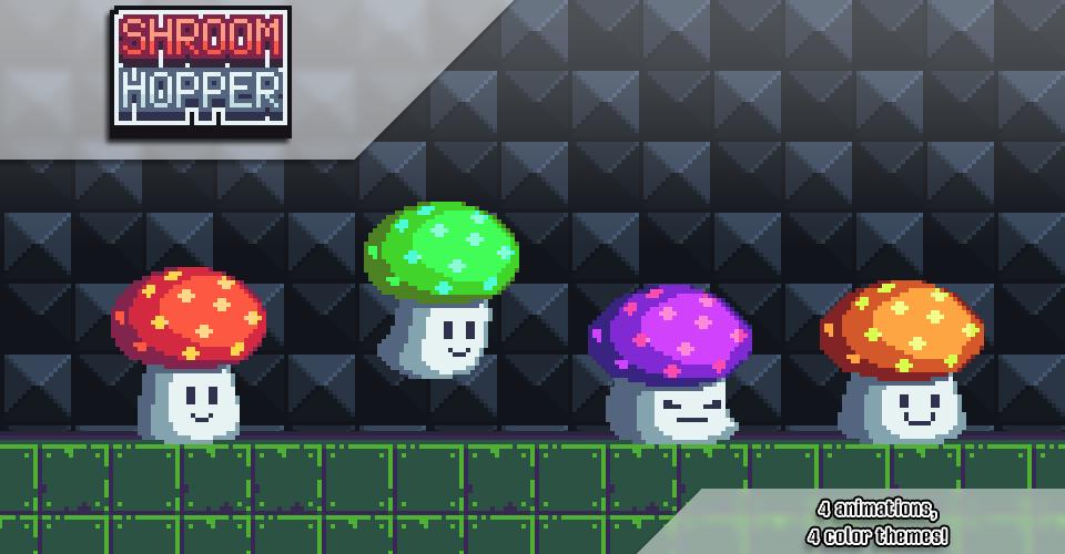 Shroom Hopper - Platformer Enemy