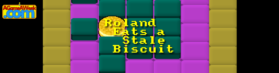 Roland Eats a Stale Biscuit