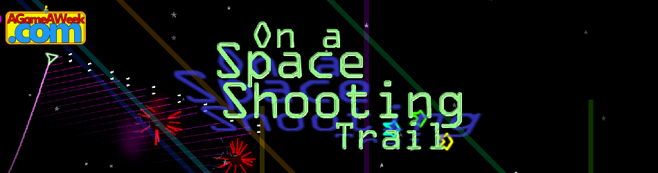On A Space Shooting Trail