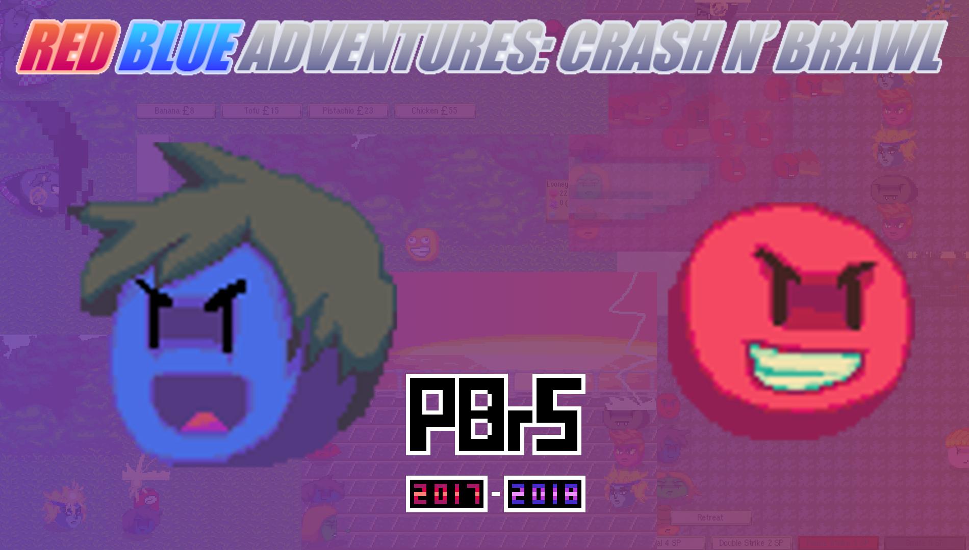 RedBlue Adventures: Crash n' Brawl