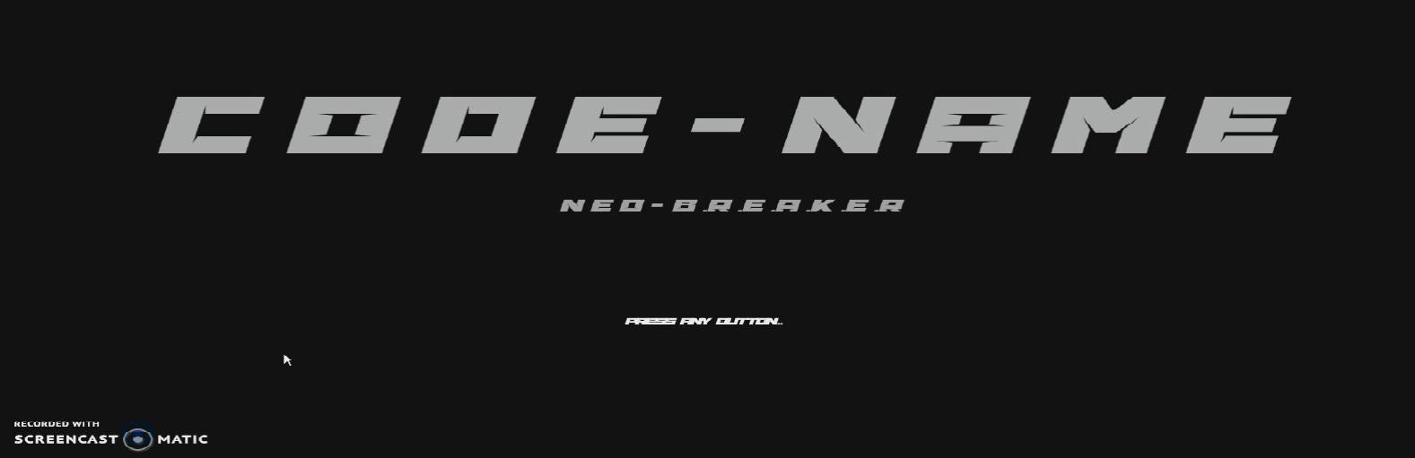 CodeName Neo Breaker