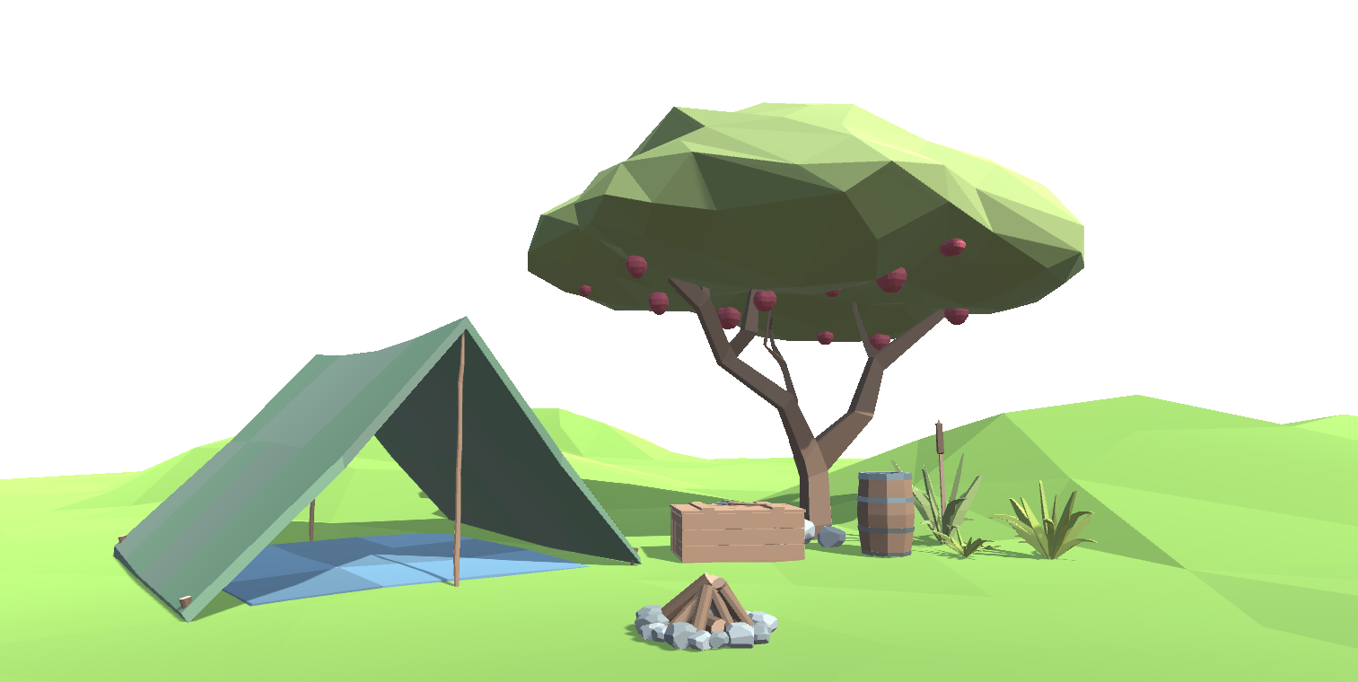 Ultimate Low Poly Survival