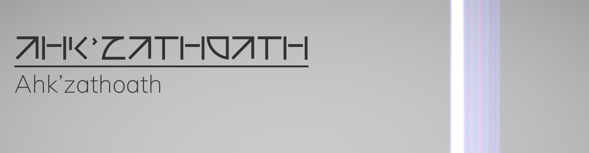 Ahk'zathoath