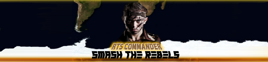 RTS Commander: Smash The Rebels
