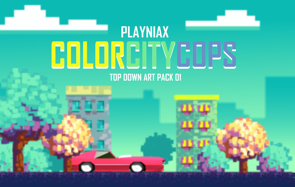 ColorCityCops Art Pack