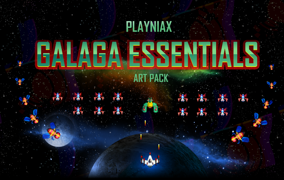 Galaga Essentials Art Pack