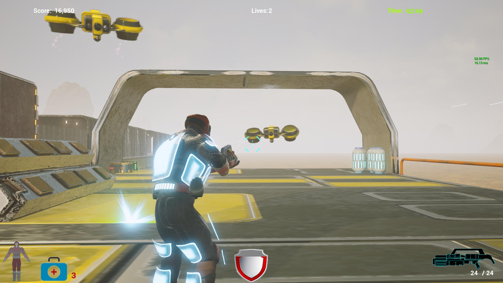Omega Commando Game