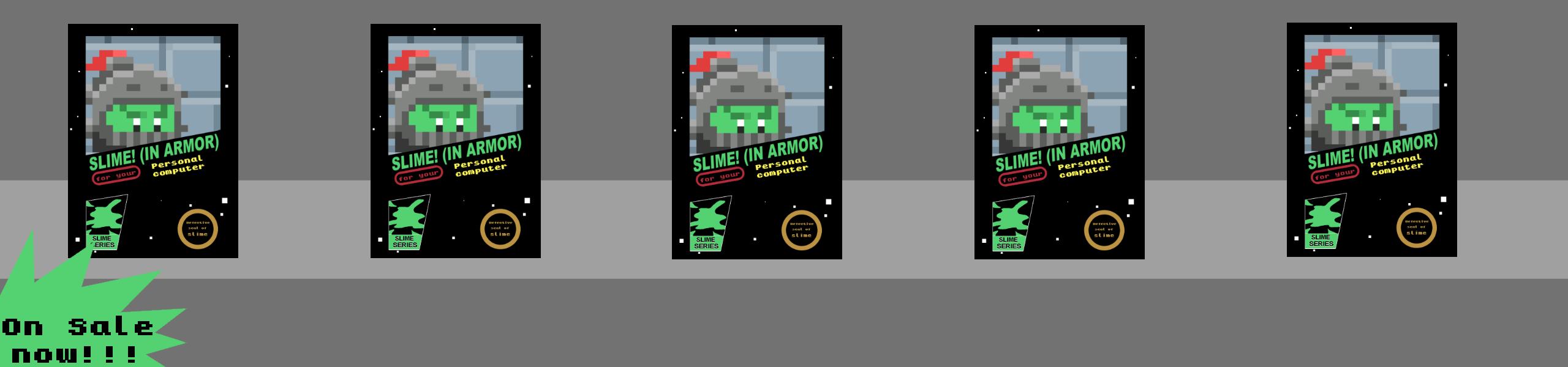 Slime! (In Armor)
