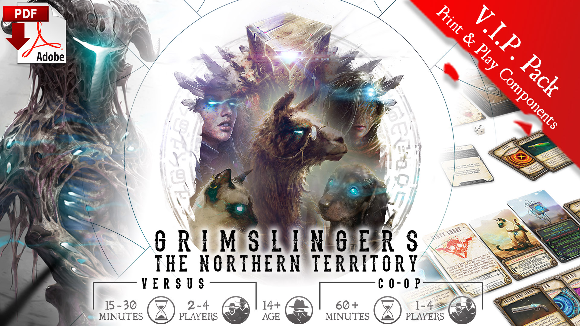 Grimslingers: The Northern Territory (GNEGS17-Print & Play)