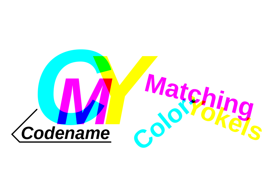 Codename CMY: Color-Matching Yokels