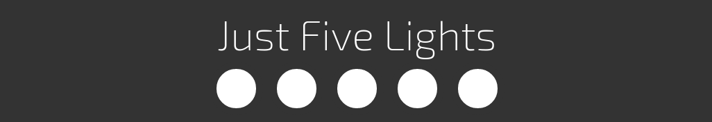 Just Five Lights