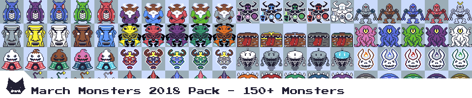March Monsters 2018 Pack