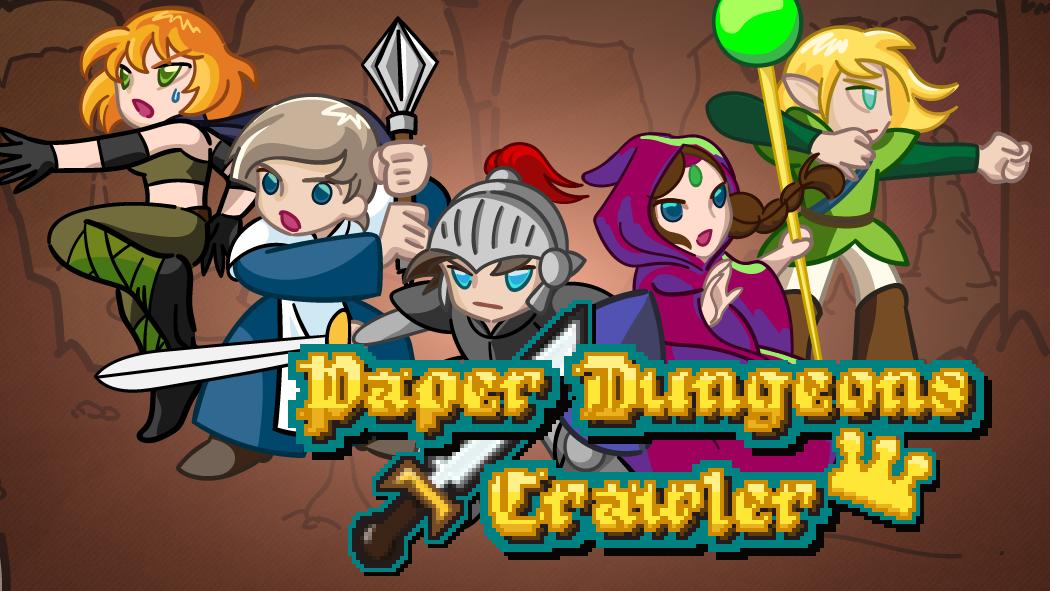 Paper Dungeons Crawler Demo
