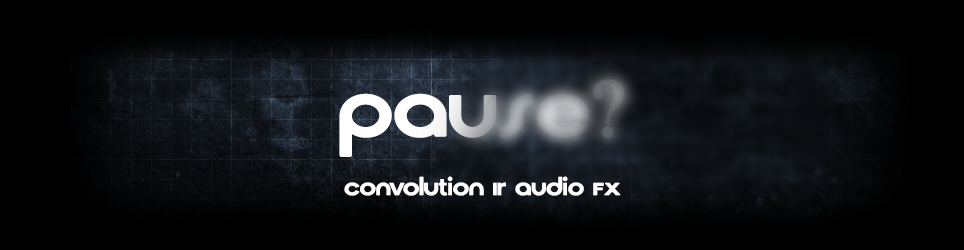 Convolution IR Pause Menu