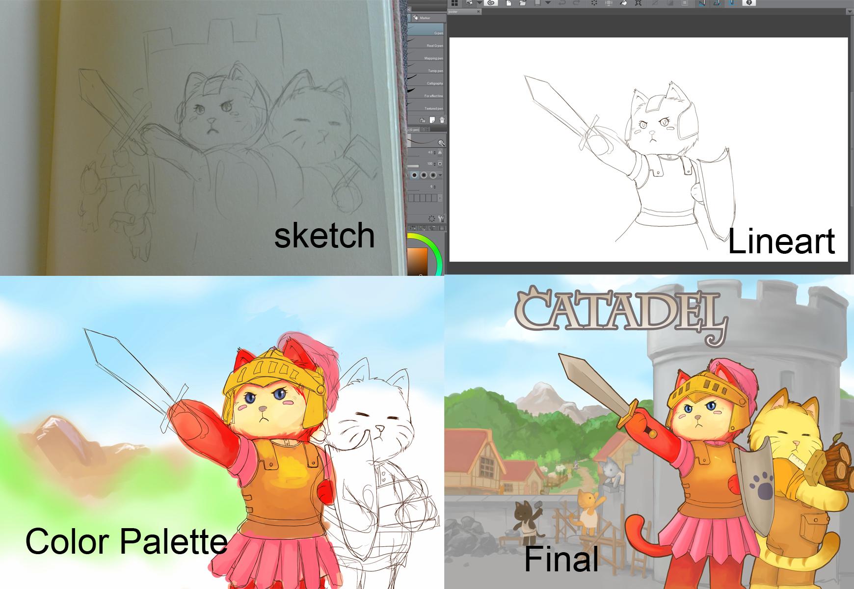 Concept Art Progress