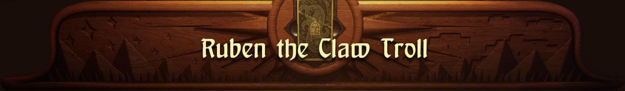 Ruben the Claw Troll (HoF2 mod)