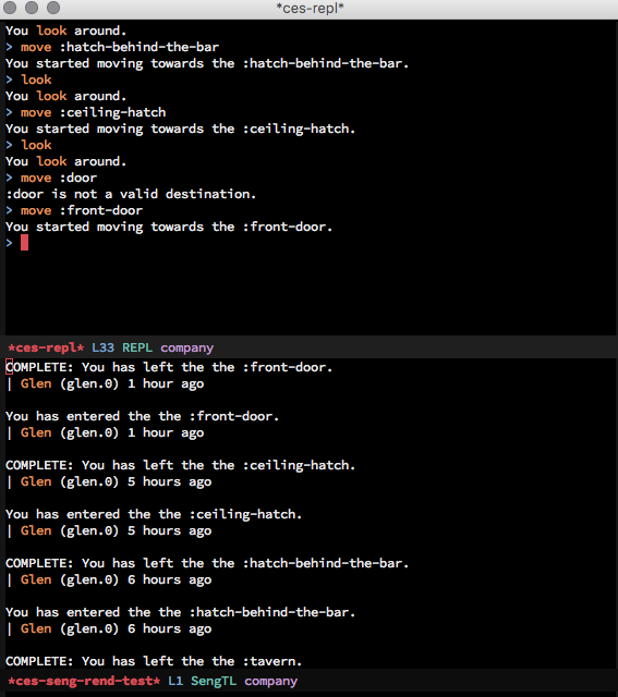 Emacs Story Engine
