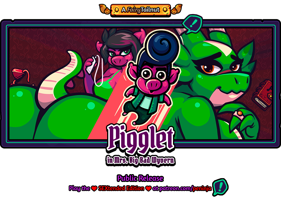 Pigglet in Mrs. Big Bad Wyvern (18+)