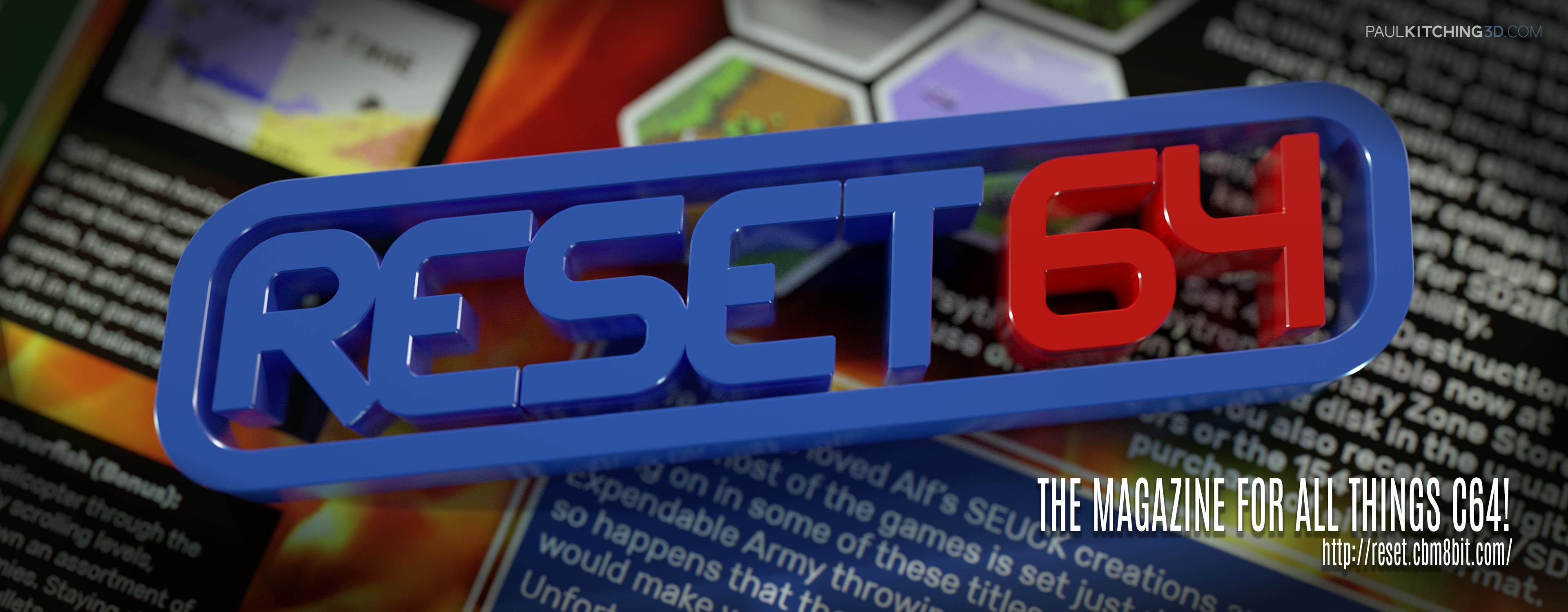 Reset64  #10 - July 2017