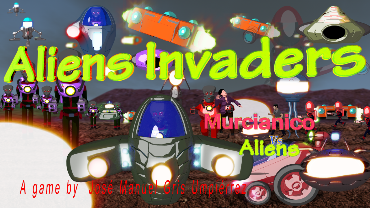 Murcianico vs Aliens - Aliens Invaders