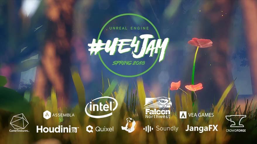 2018 Spring #ue4jam - itch io
