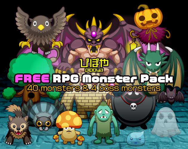 FREE RPG Monster Pack