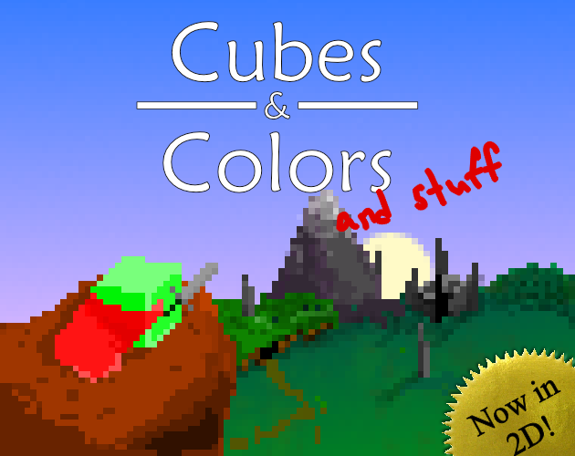 Cubes & Colors and stuff