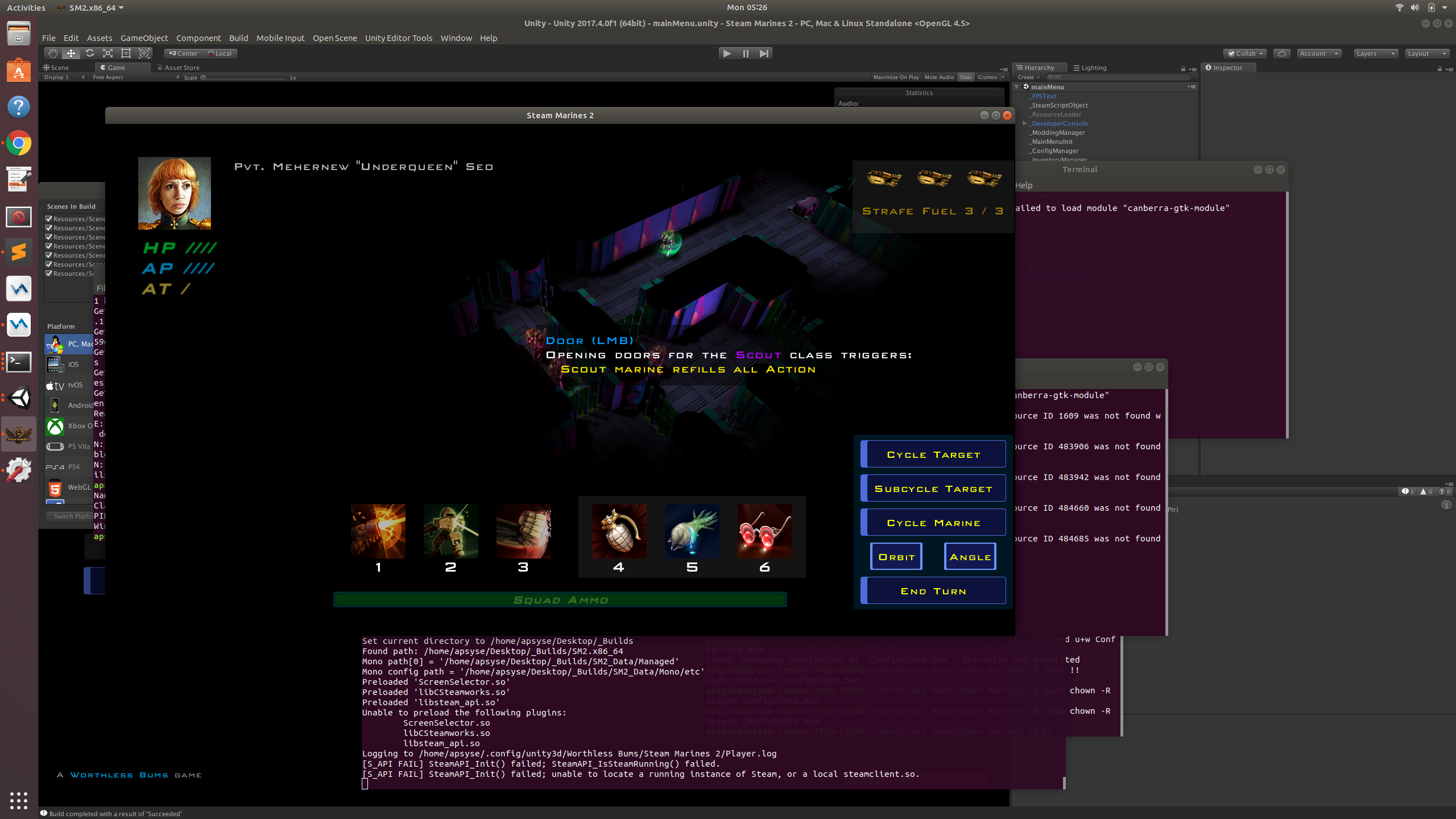 Steam Marines 2 - Early Linux Build - Steam Marines 2 by