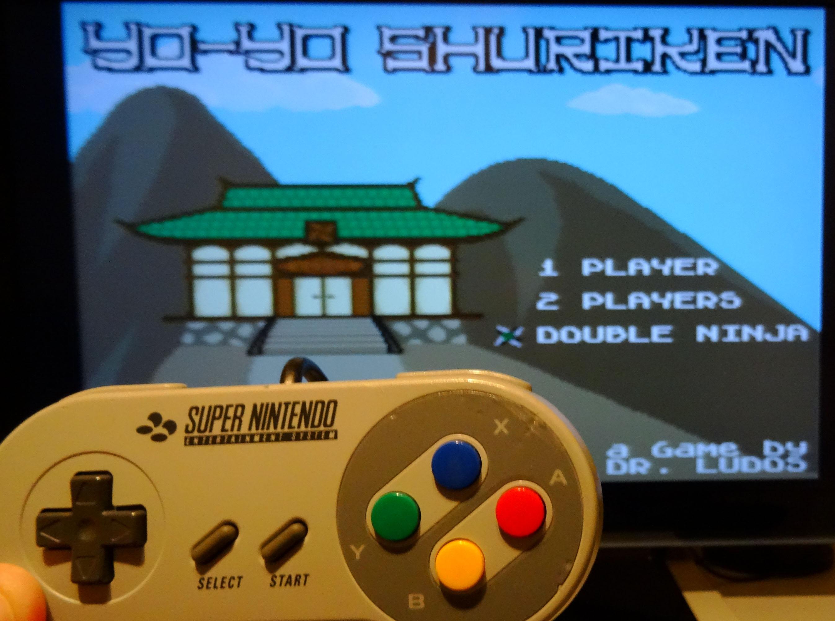 Nouveau jeu Super Nintendo : Yo-Yo Shuriken TW3KMu