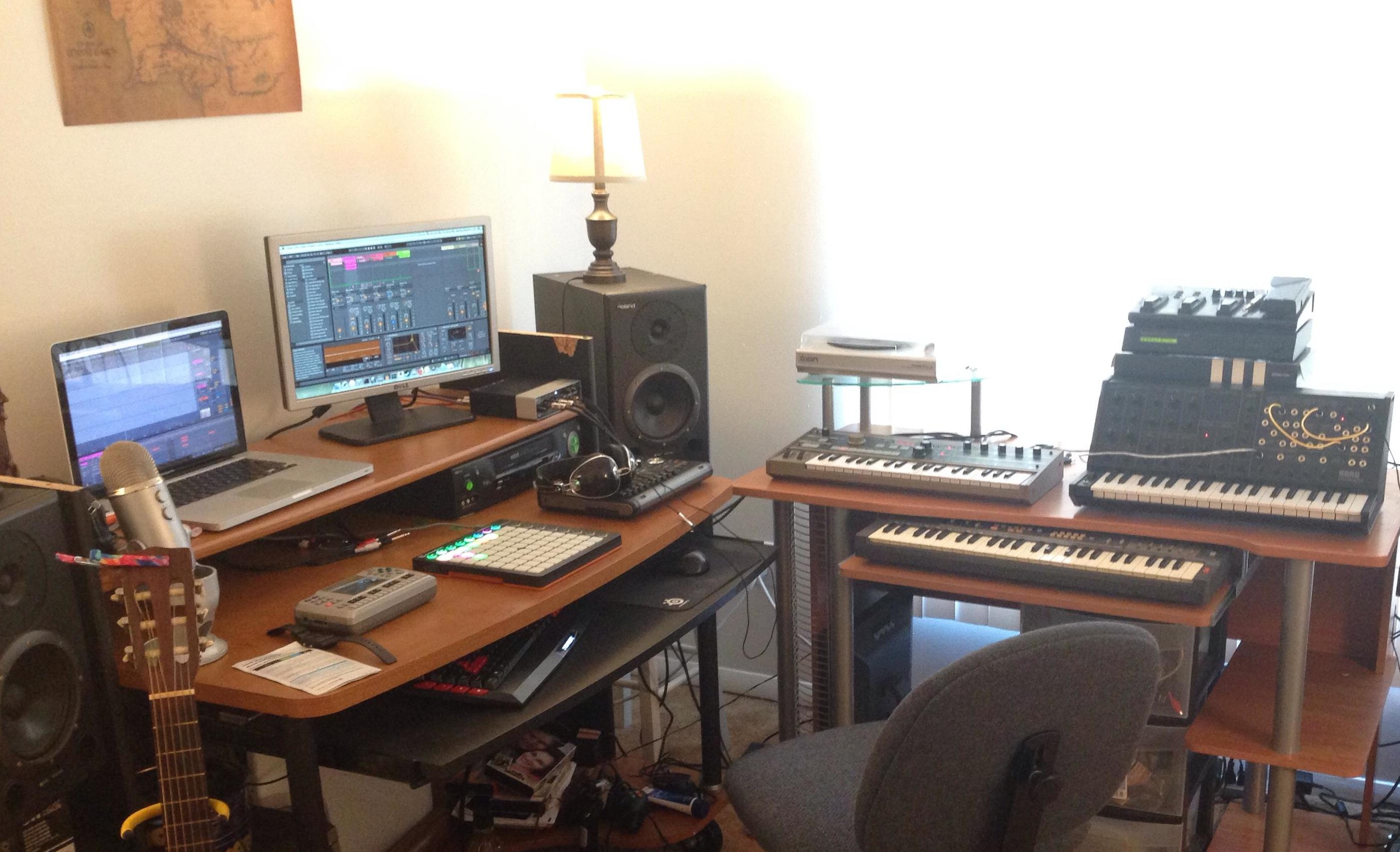 Jonathan's Home Studio