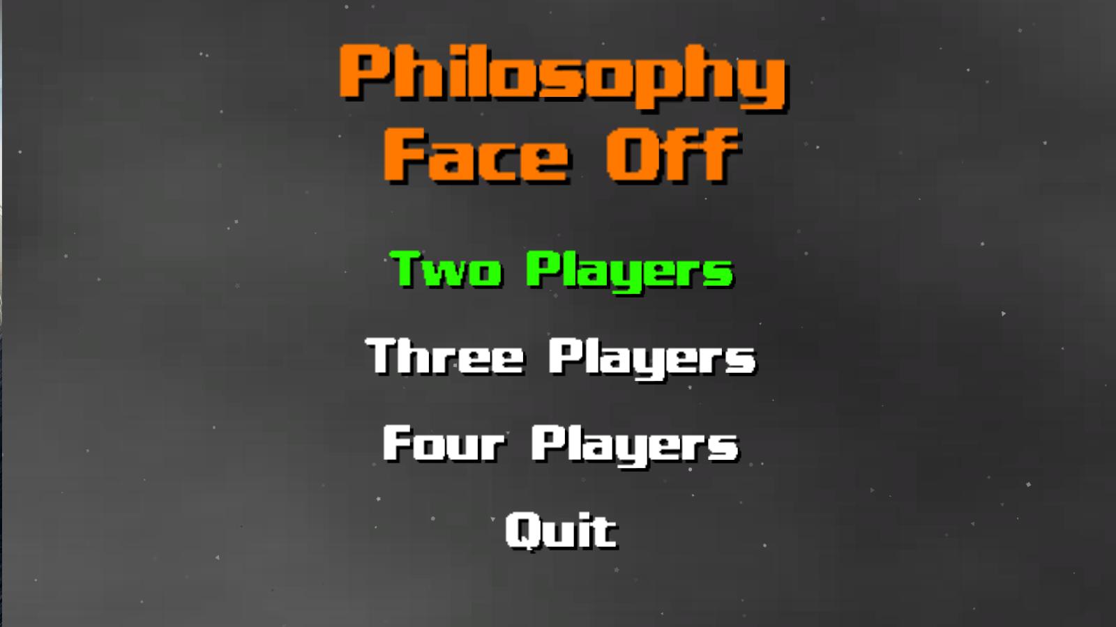 Philosophy Face-off!