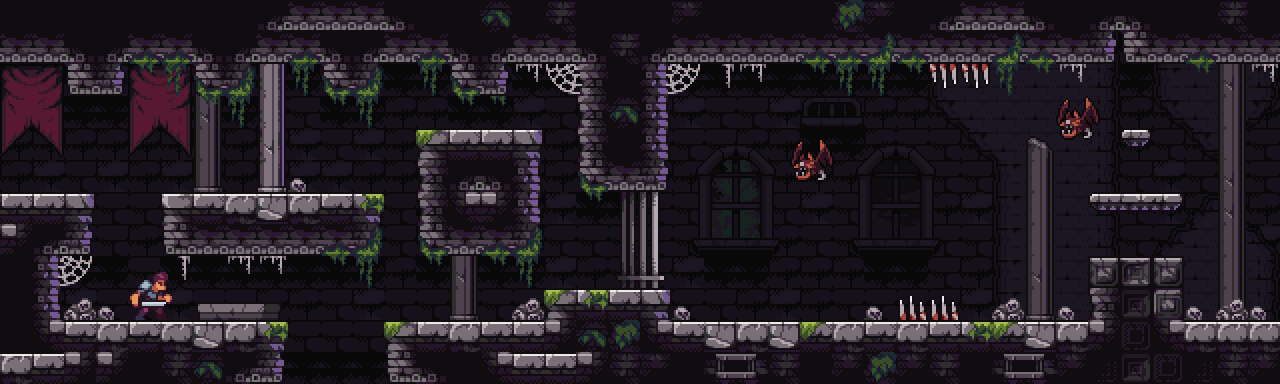 Castle Dungeon - Fantasy Pixel Art Tileset