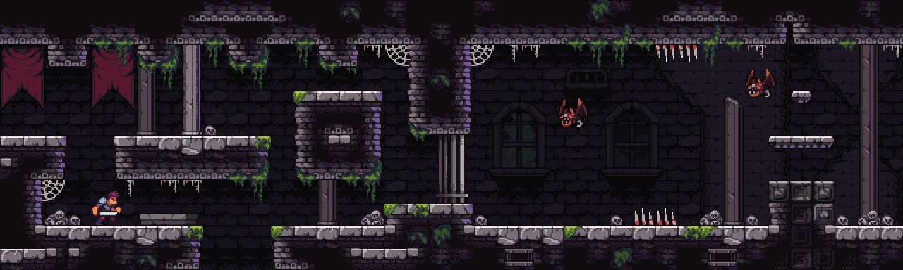Castle Dungeon - Fantasy Pixel Art Tileset by aamatniekss