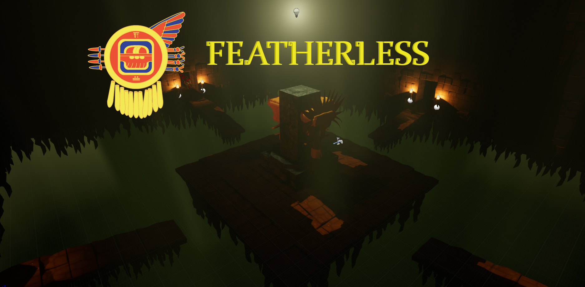 Featherless 1 2 [Mayan open-world rpg game] - Devlogs - itch io