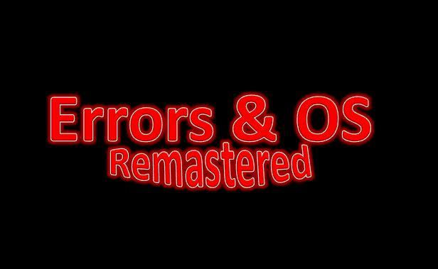 Errors & OS