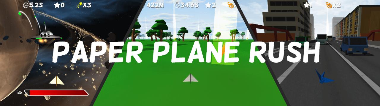 Paper Plane Rush - VR Edition