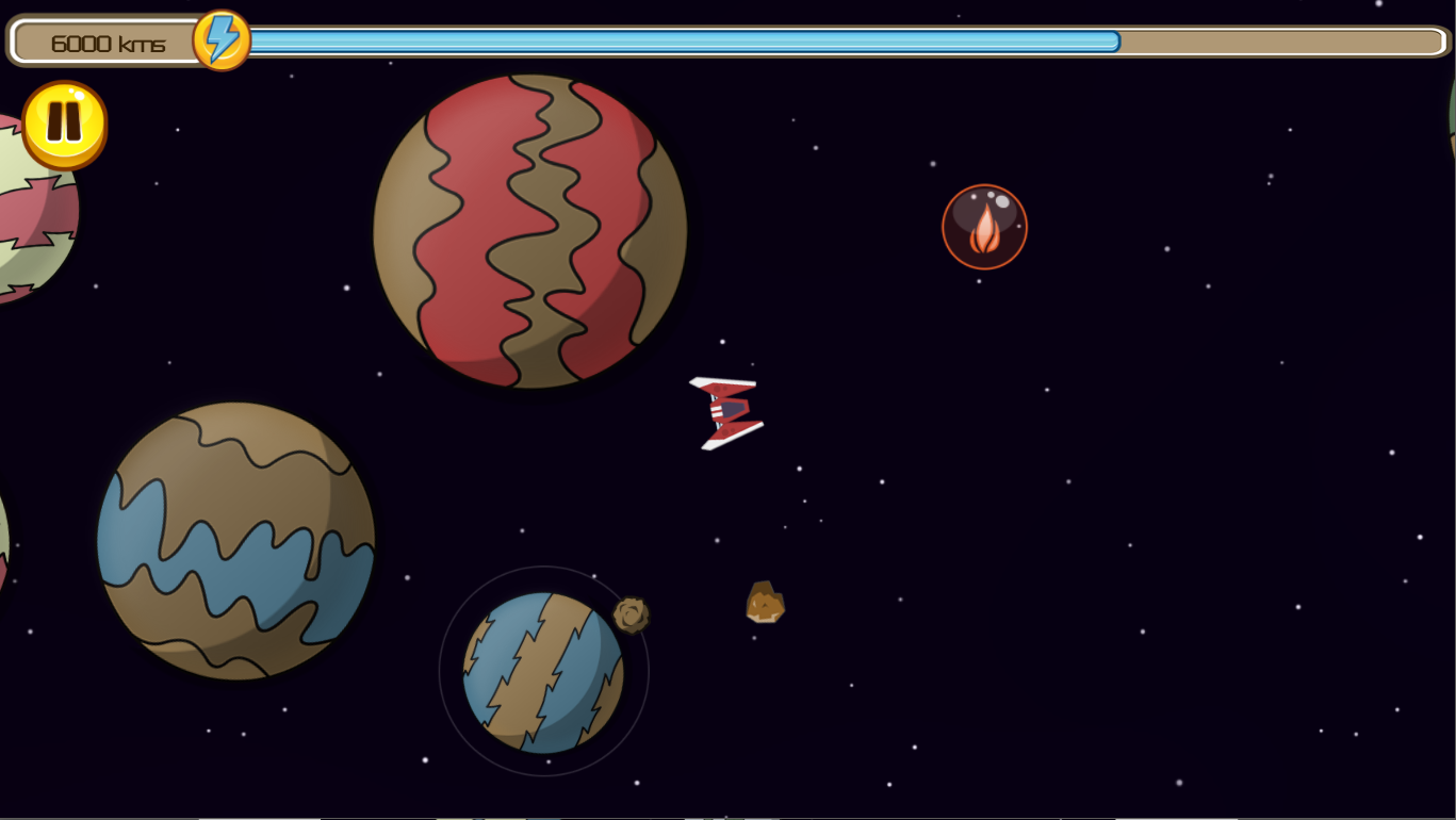 Screenshot of gameplay of the final version