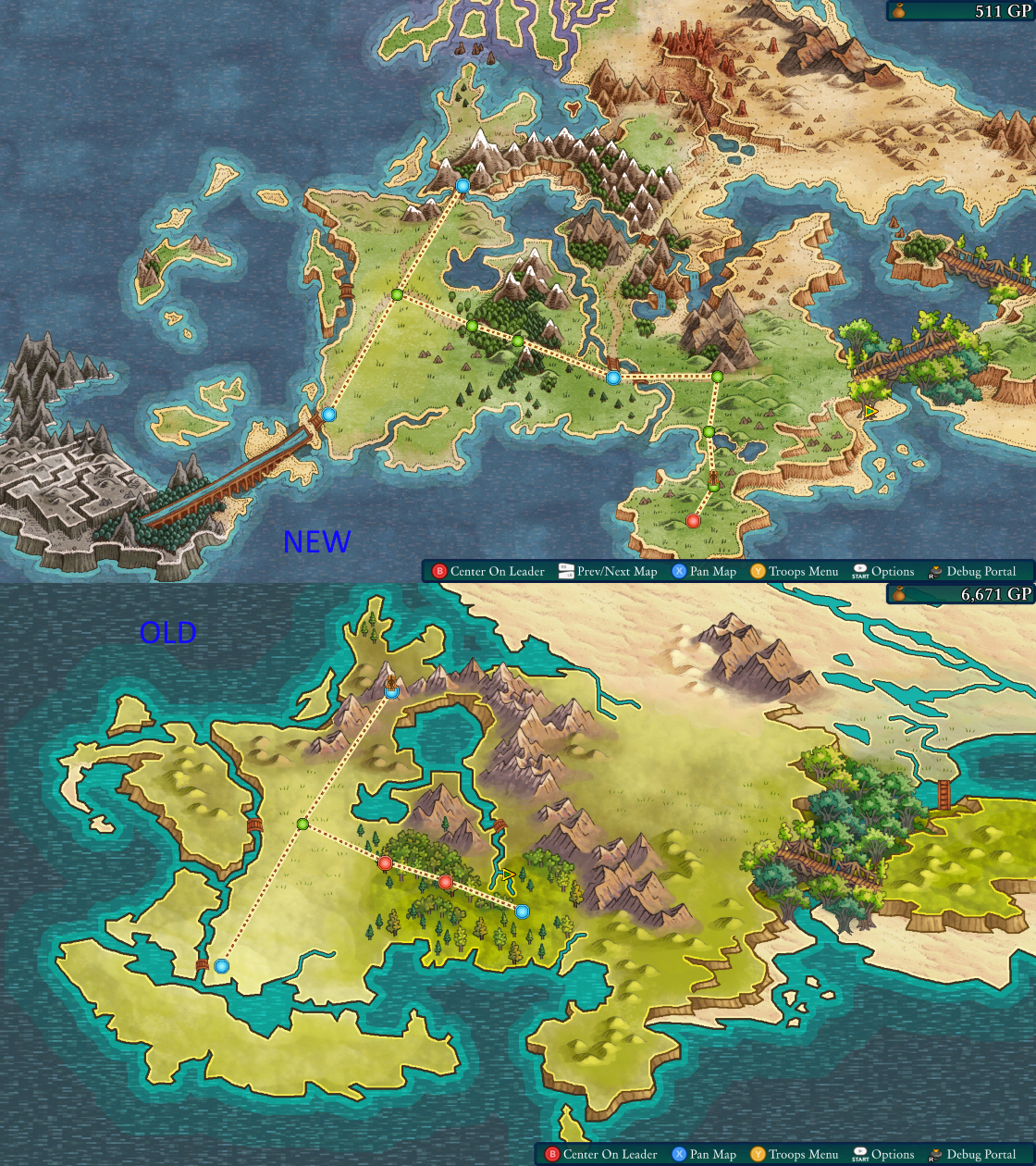 New world map, new beards. - Fell Seal: Arbiter's Mark ...