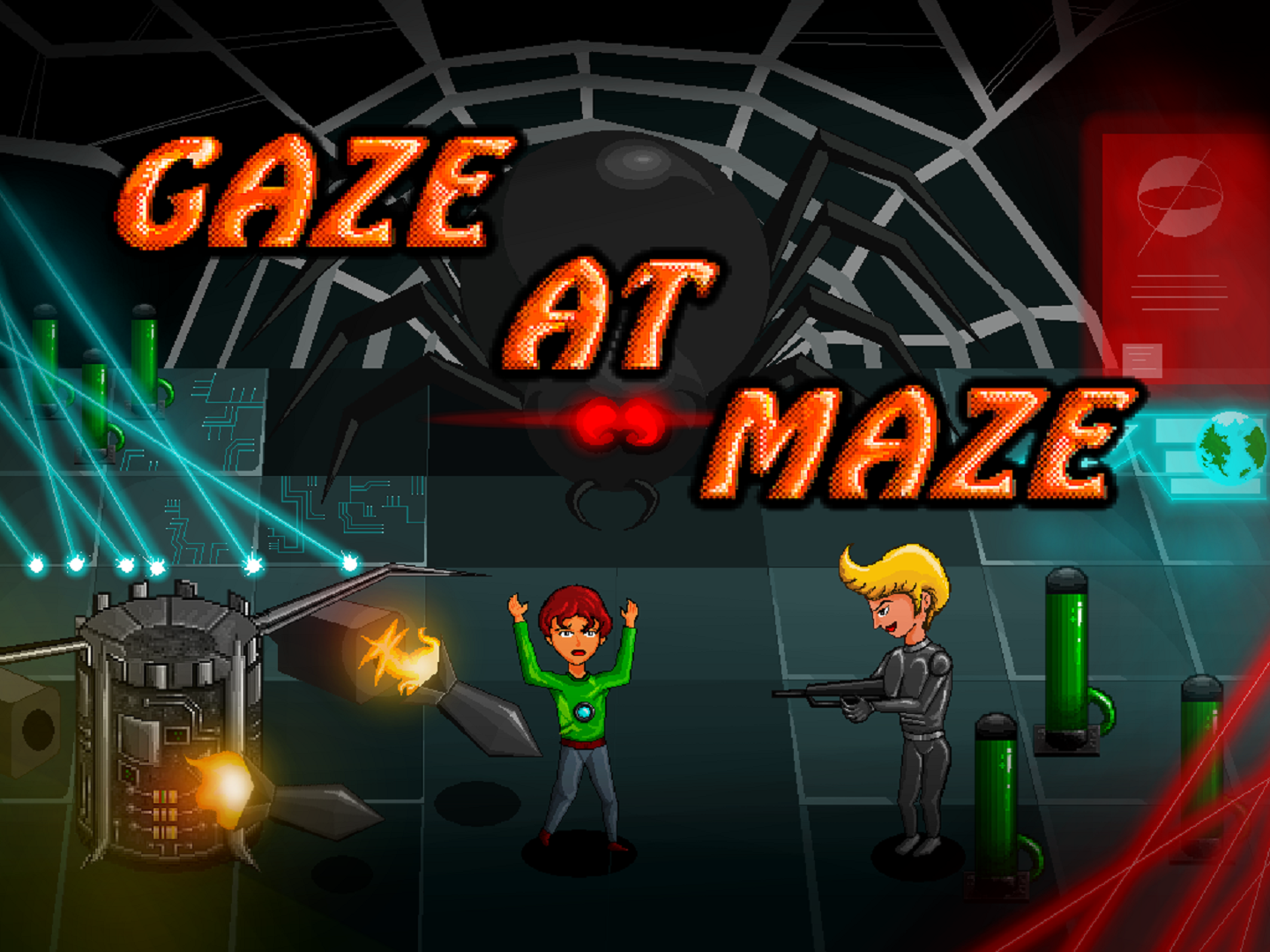 Gaze At Maze
