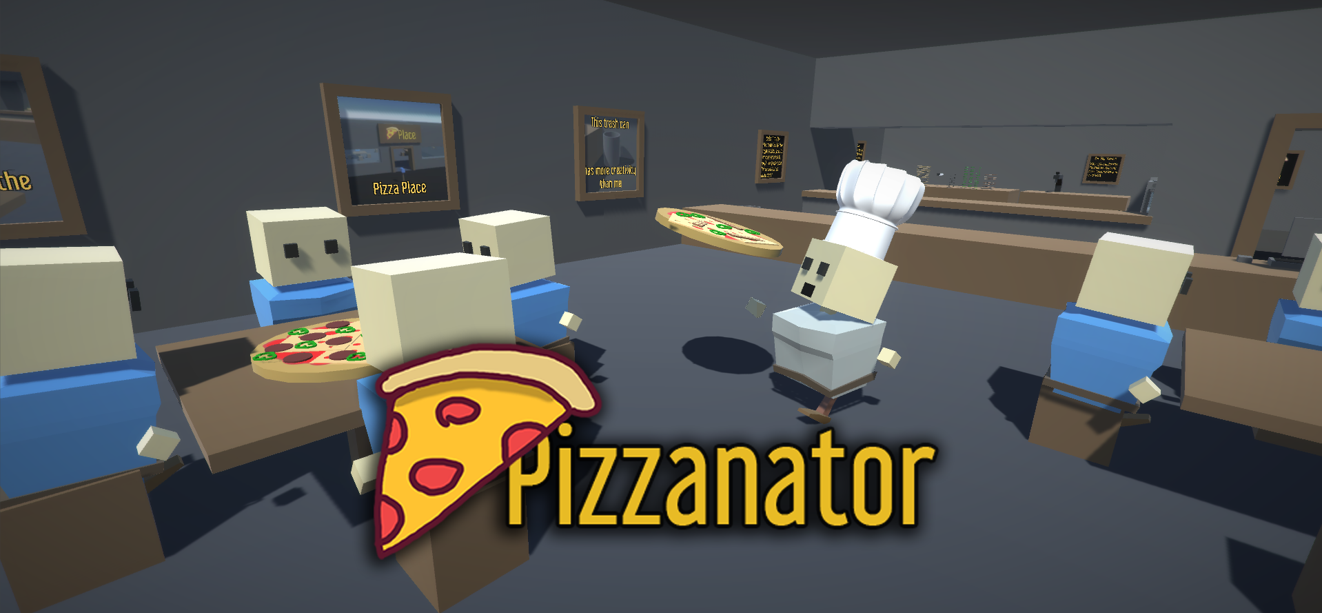 Pizzanator - Pizza Simulator