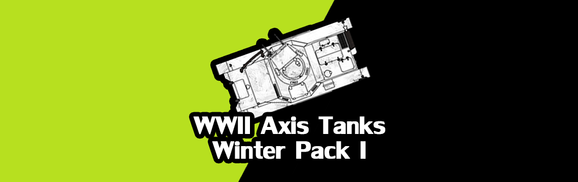 2D Axis Tanks - Winter Pack I