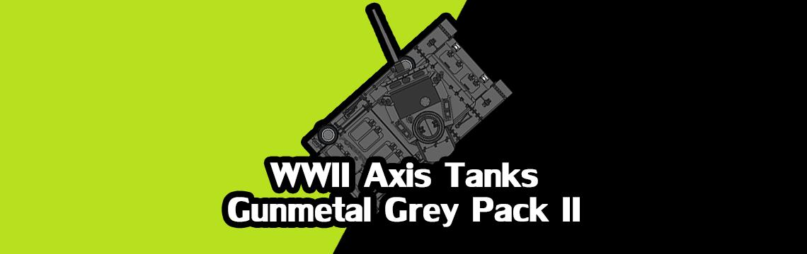 2D Axis Tanks - Gunmetal Pack II