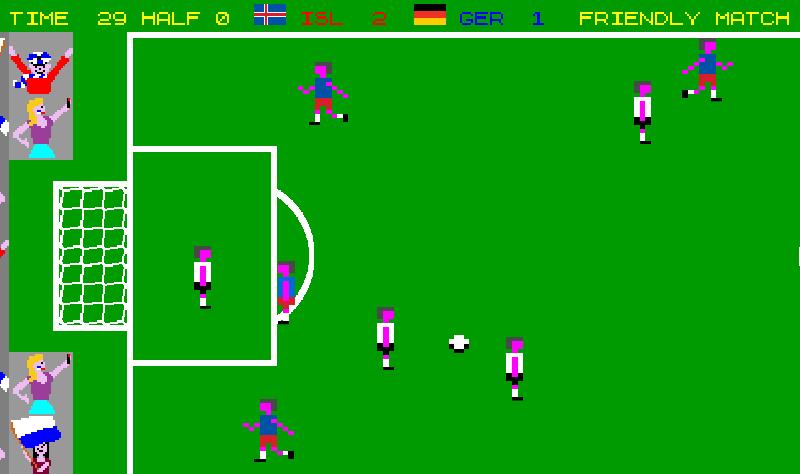 Hyperactive Soccer Friendly Match