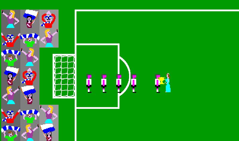 Hyperactive Soccer Celebrations