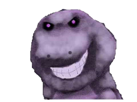 Barney's Revenge (is not a error) by Sora Shimmer