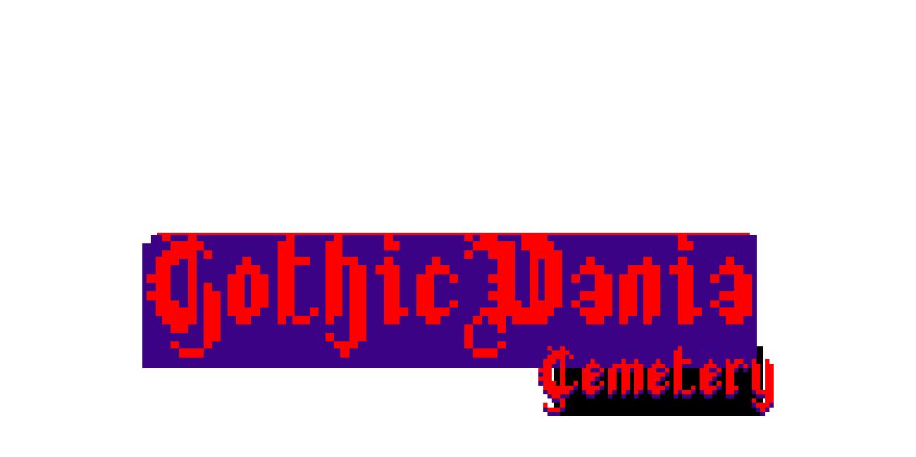 GothicVania Cemetery