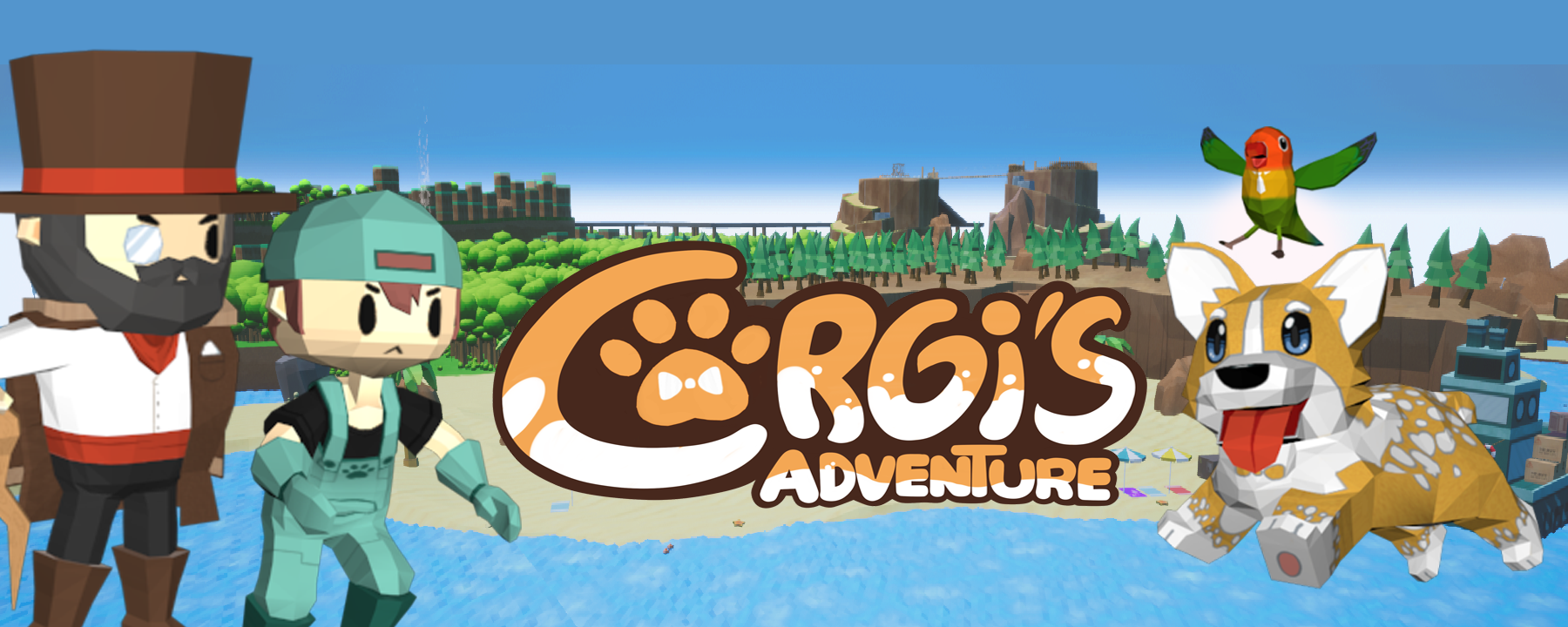Corgi's adventure