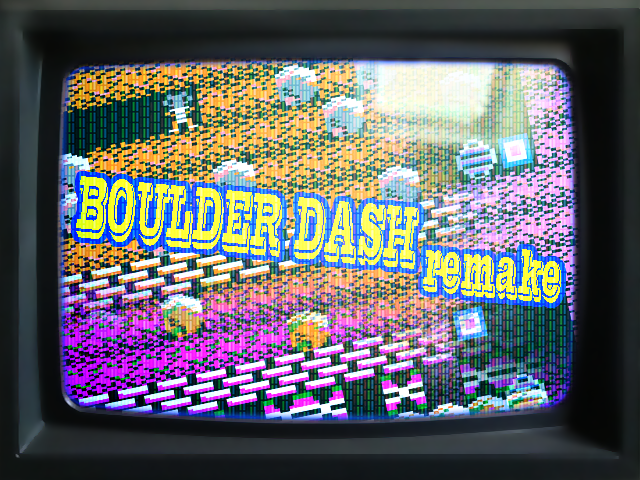 BoulderDash CPC-Remake